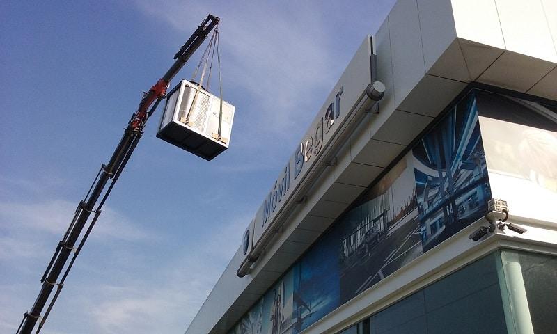 Instalación aire acondicionado en BMW, Petrer
