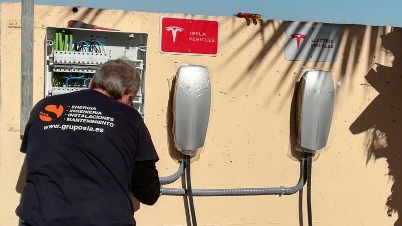 Grupo SIA, instaladores autorizados de estaciones de carga para vehículos Tesla